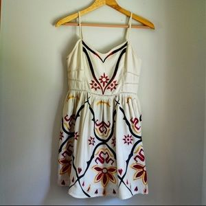 Free People boho mini dress